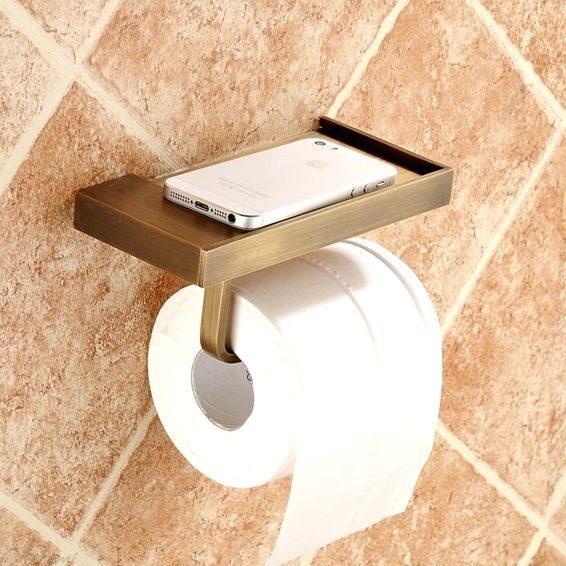 Бумагодержатель в туалет своими руками